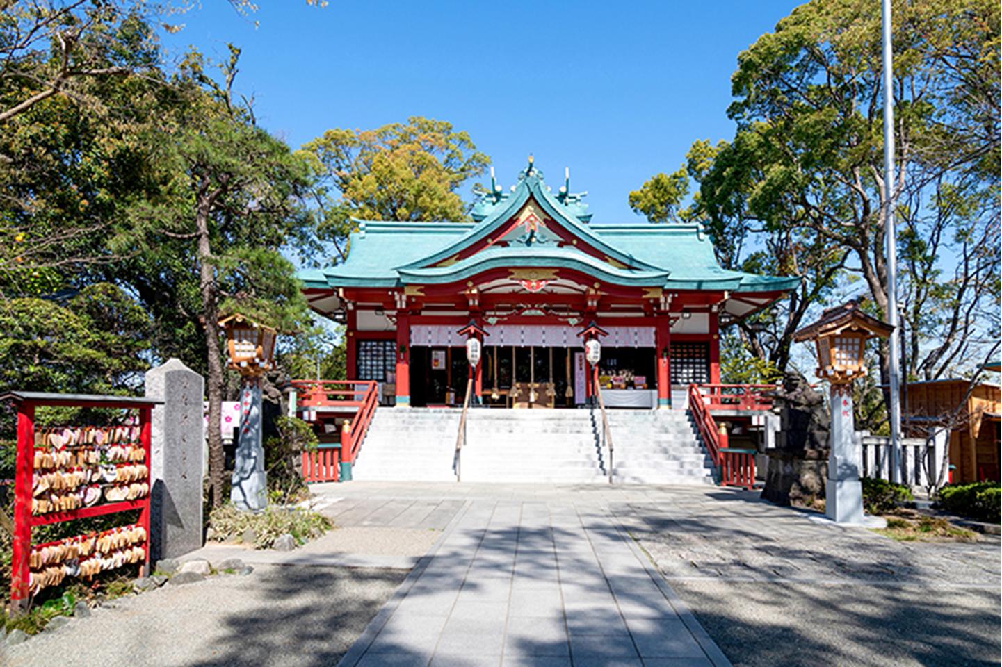 多摩川浅間神社(東京都大田区)