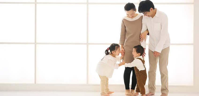 家族写真を撮影するときの服装について