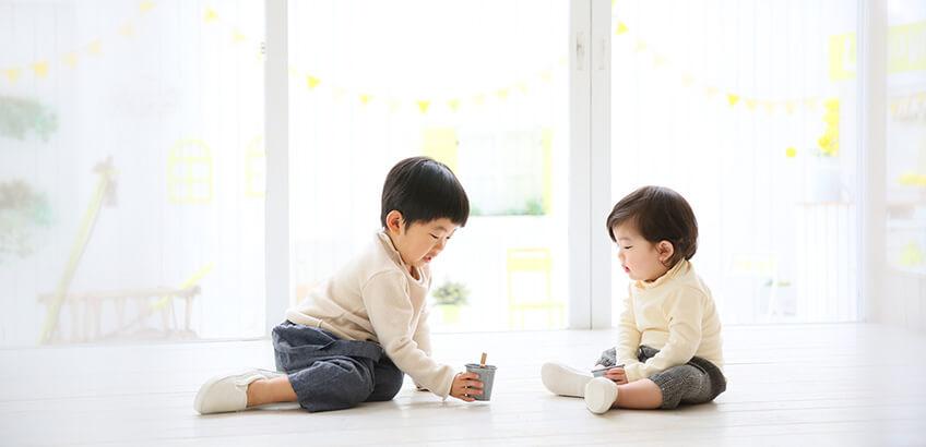 お子さんの成長が著しい貴重な時期を写真に収めよう