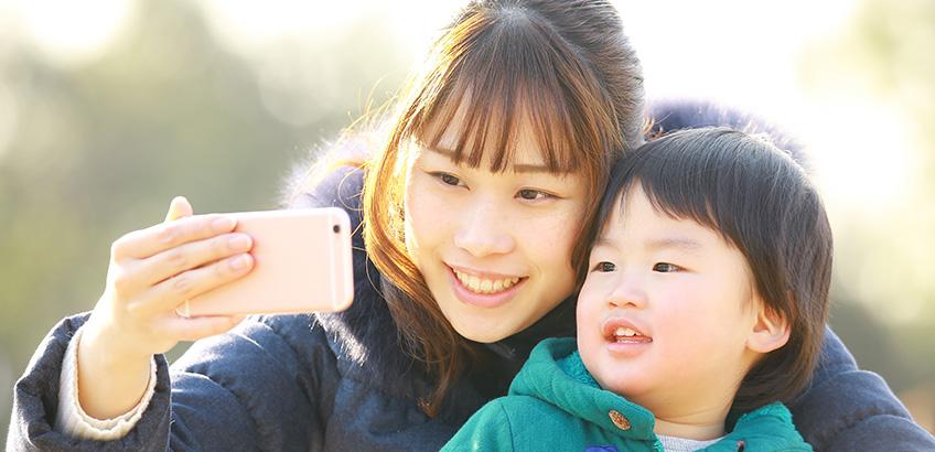 お子さんの大切な日常の一コマを写真におさめよう!