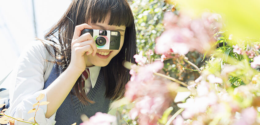 今大人気! 「レンズ付きフィルム」の魅力と上手に撮る方法