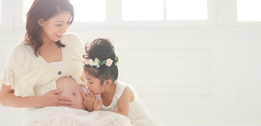 家族の大切な思い出にマタニティフォトを撮影してみよう!
